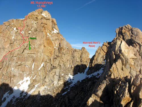 Summit Pitches of Mt Humphreys