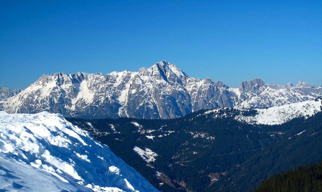 The Birnhorn (2634m) in the Leoganger Steinberge