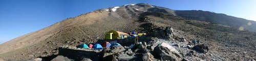 Shelter at 4150m on Damavand