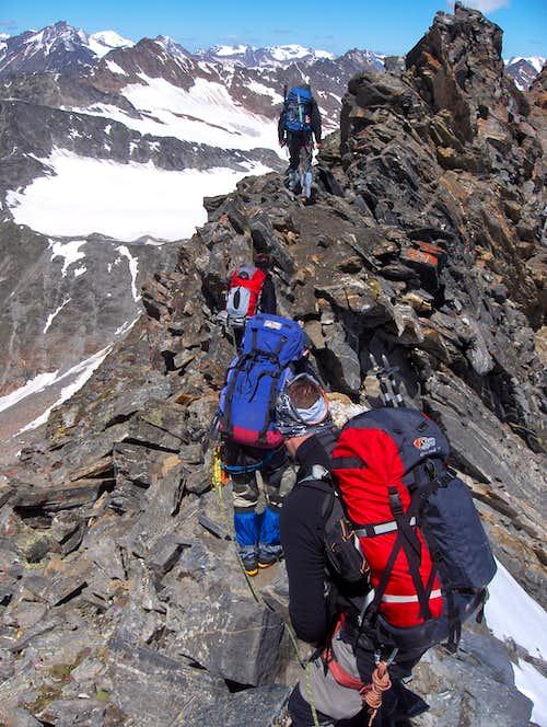 On the Hochwilde ridge