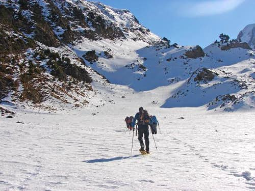 Route to Col of Petrechema