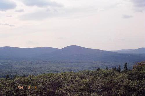 Westward view from Mt. Battie