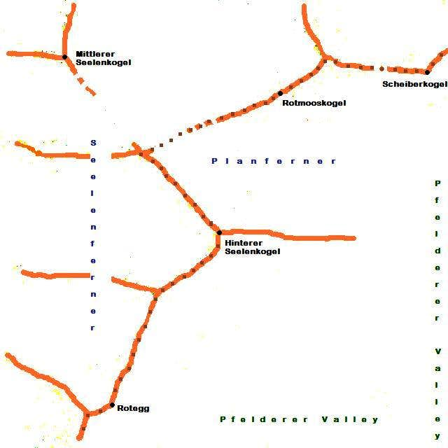 Hinterer Seelenkogel schematic map