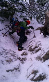Lions Head Winter route Mt Washington