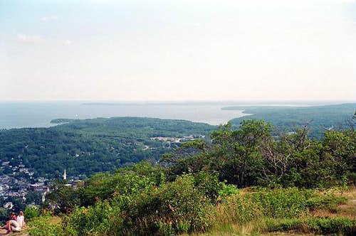 View of Campden and Rockland...