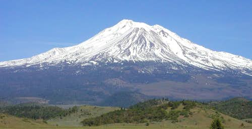 Mt. Shasta from the NW at the...