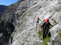 On the Watzmann East Face