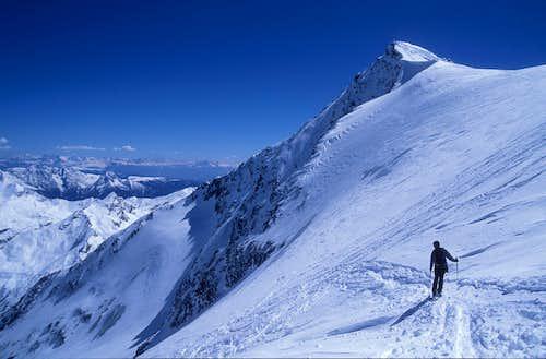 downhill on Planferner glacier