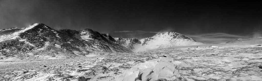 Frozen Mt. Evans