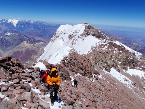Aconcagua Southwest Summit