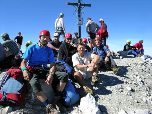 The Watzmann summit team...