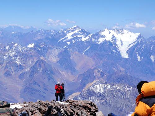 Aconcagua Summit View