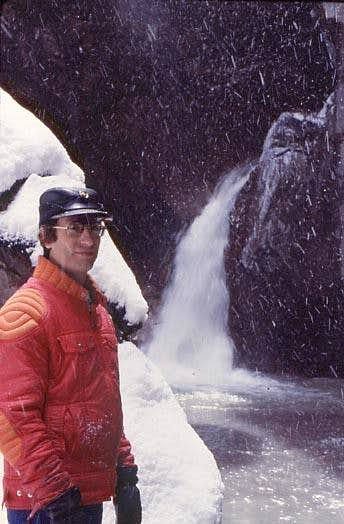 Saintgrizzly, Box Canyon, Ouray, 1978