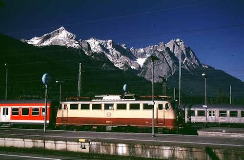 From the Garmisch train...