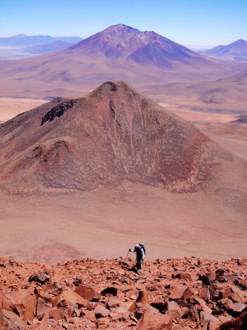 Cerro Tomasamil Seen From Callejón Cañapa
