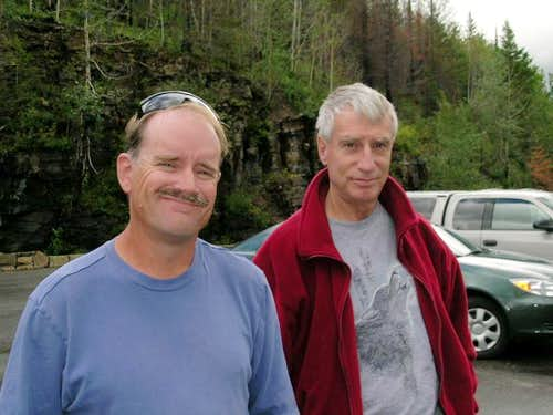 SP members Aaron Johnson & Saintgrizzly at GNP, 2004