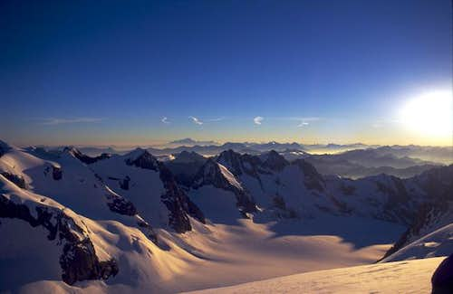 Mont Blanc from far away