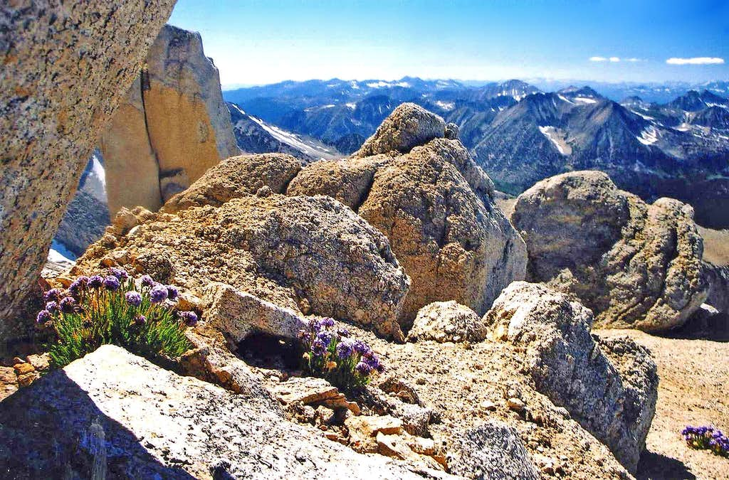 North from Mono Pass Peak