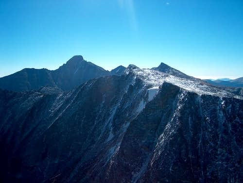 Powell Peak from Taylor Peak