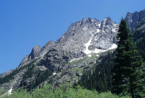 Animas Mountain from the North-West