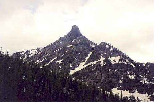 This is the 8781-ft crag...