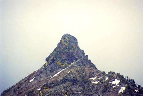 The summit tower of 8,781-ft...