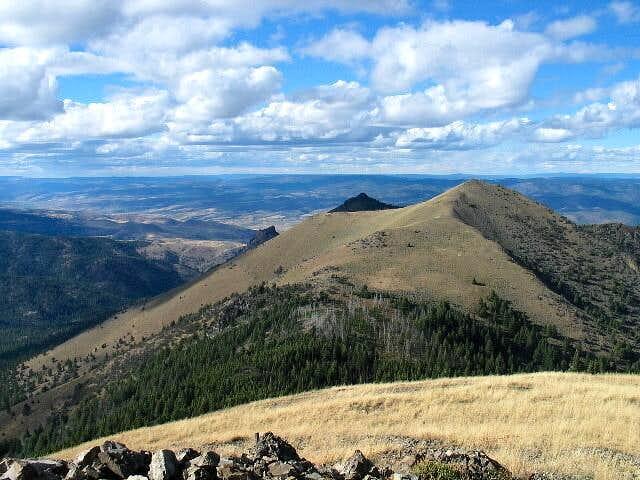 North of Fields Peak is peak...