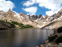 Aguja Frey above Bariloche