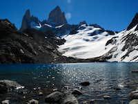 Fitzy Roy and Lago de los Tres