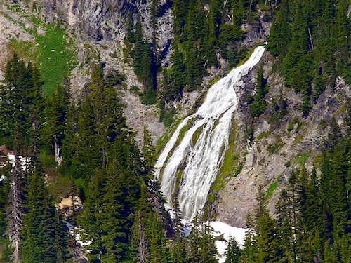 Water Falls Near Paradise