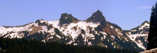 Tatoosh Range Panorama