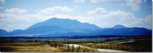 Laramie Peak, looming above...