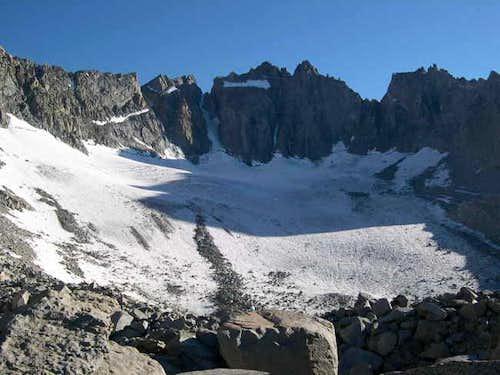 Palisades Glacier, High...