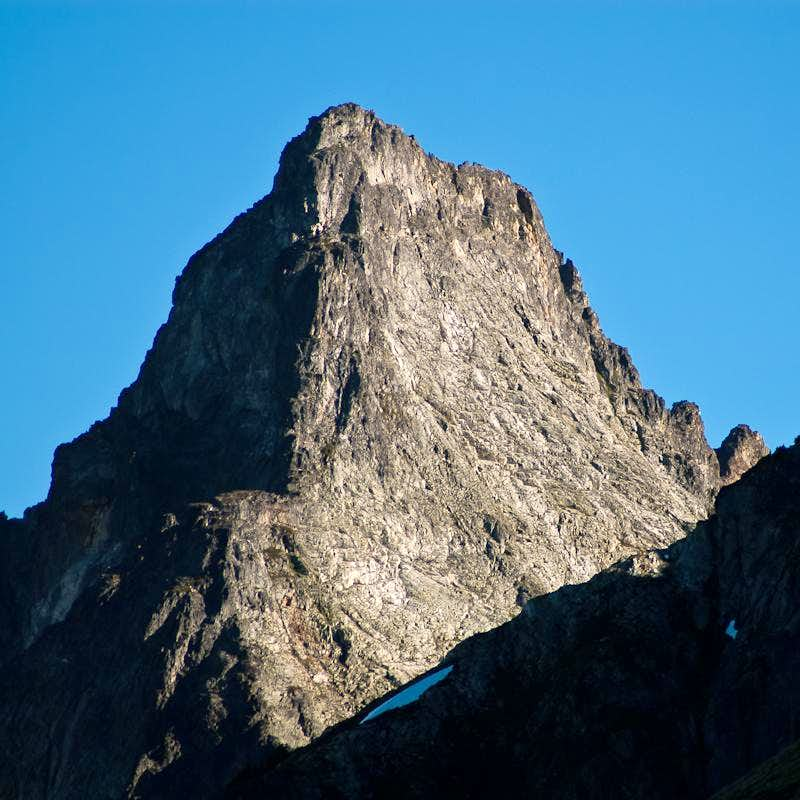 East Face of Mixup Peak