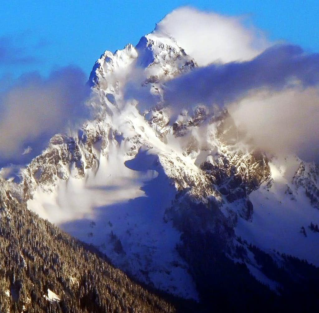 Sloan Peak's Northwest Face