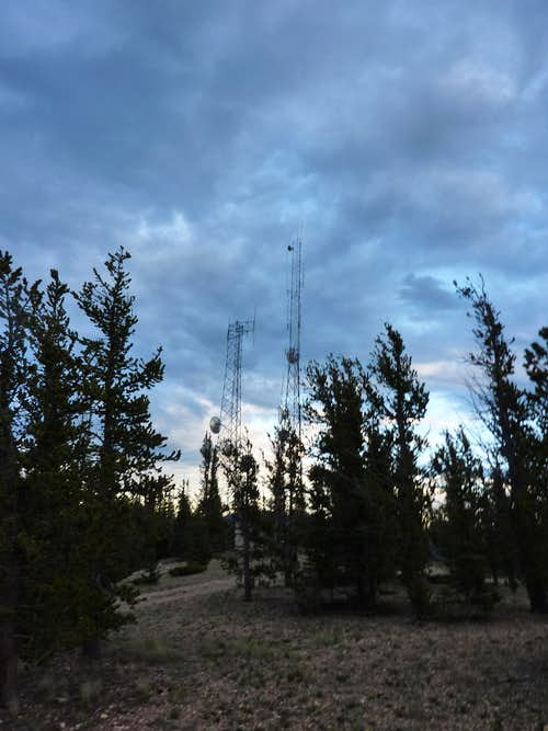 Cell Towers on the Summit