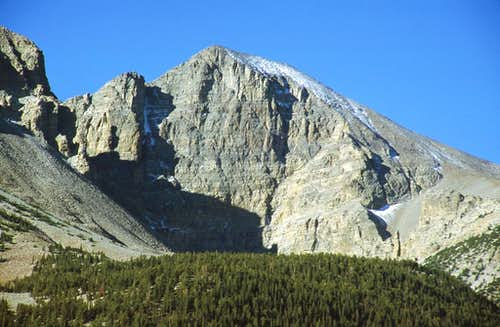 Wheeler Peak\'s north face