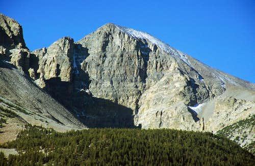 Wheeler Peak's north face