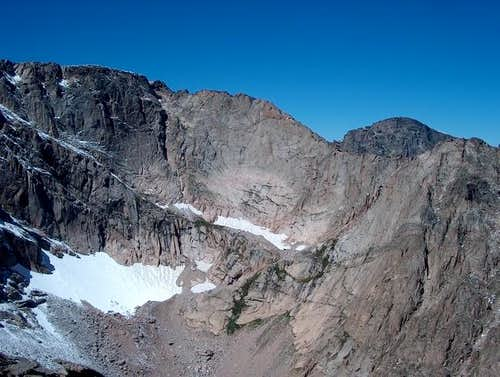 The East Face of Powell Peak