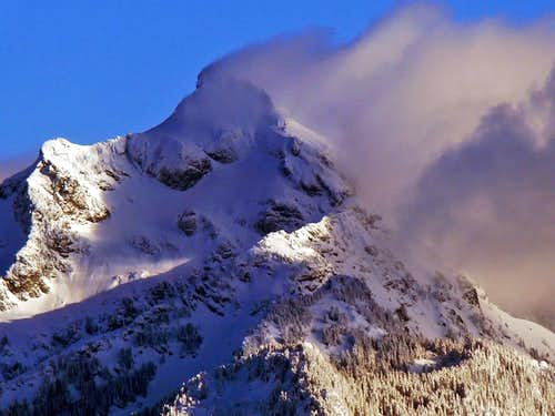 Shadows over Mount Pugh