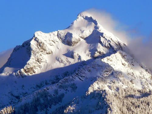 Mount Pugh during Winter