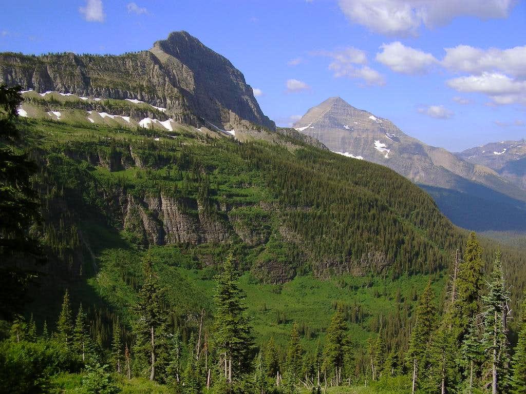 Tinkham Mountain and Mt. Stimson