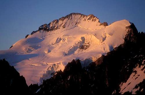 Barre des Ecrins and Dome de...