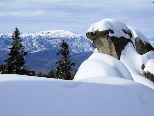 Skiing Black Mountain