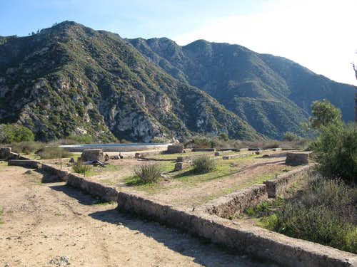Echo Mountain history