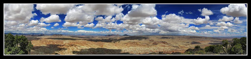 Black Mountain Summit Panorama