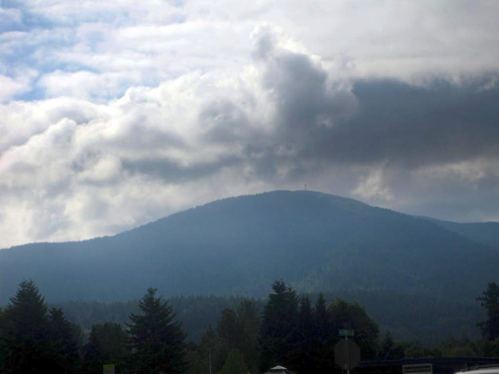 Tiger Mountain with Clouds