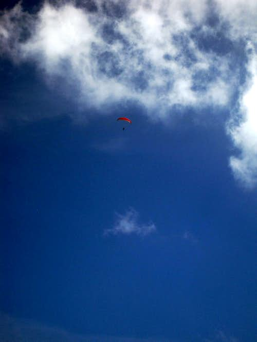 Paragliding Above Tiger Mountain