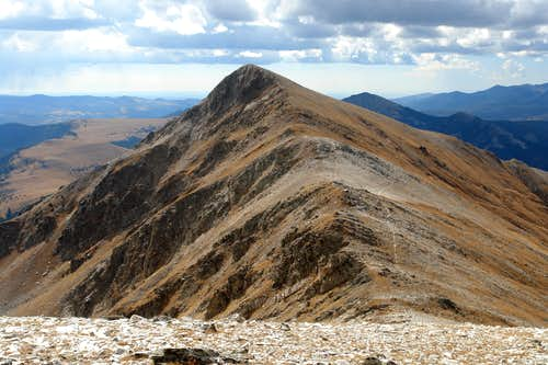 South Truchas Peak from Medio Truchas summit
