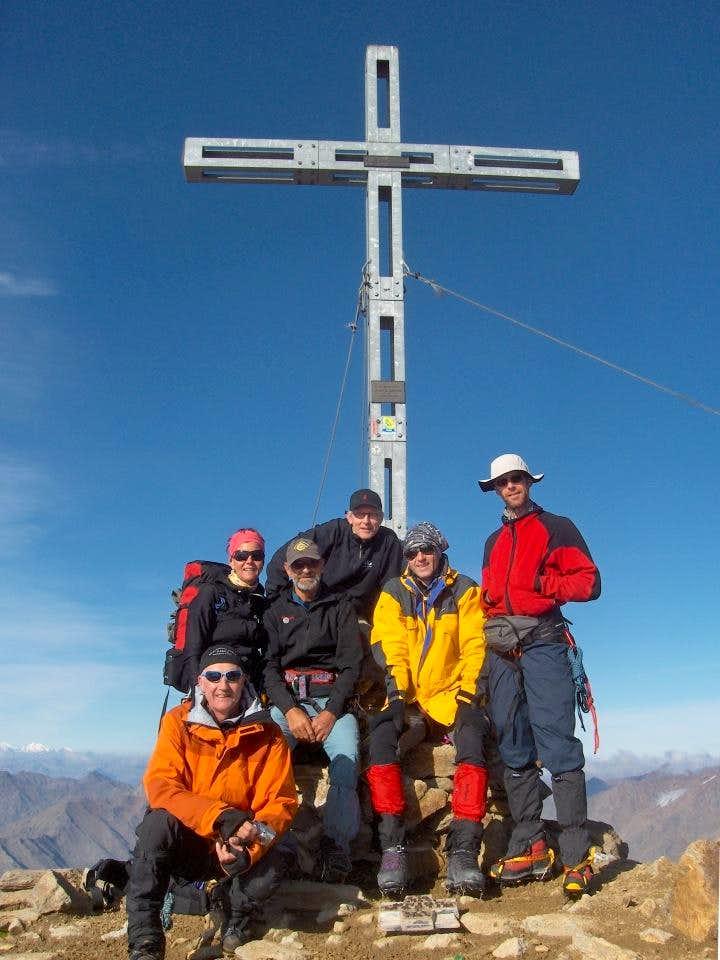 Similaun summit cross
